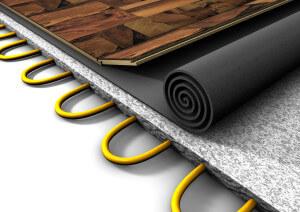 Laminaat leggen met vloerverwarming vloerverwarming