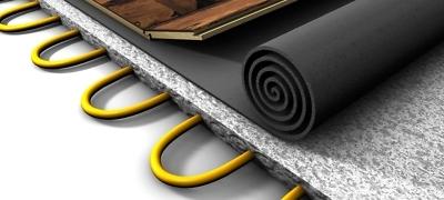 Laminaat leggen met vloerverwarming