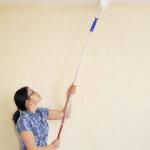 hoe moet ik een plafond witten