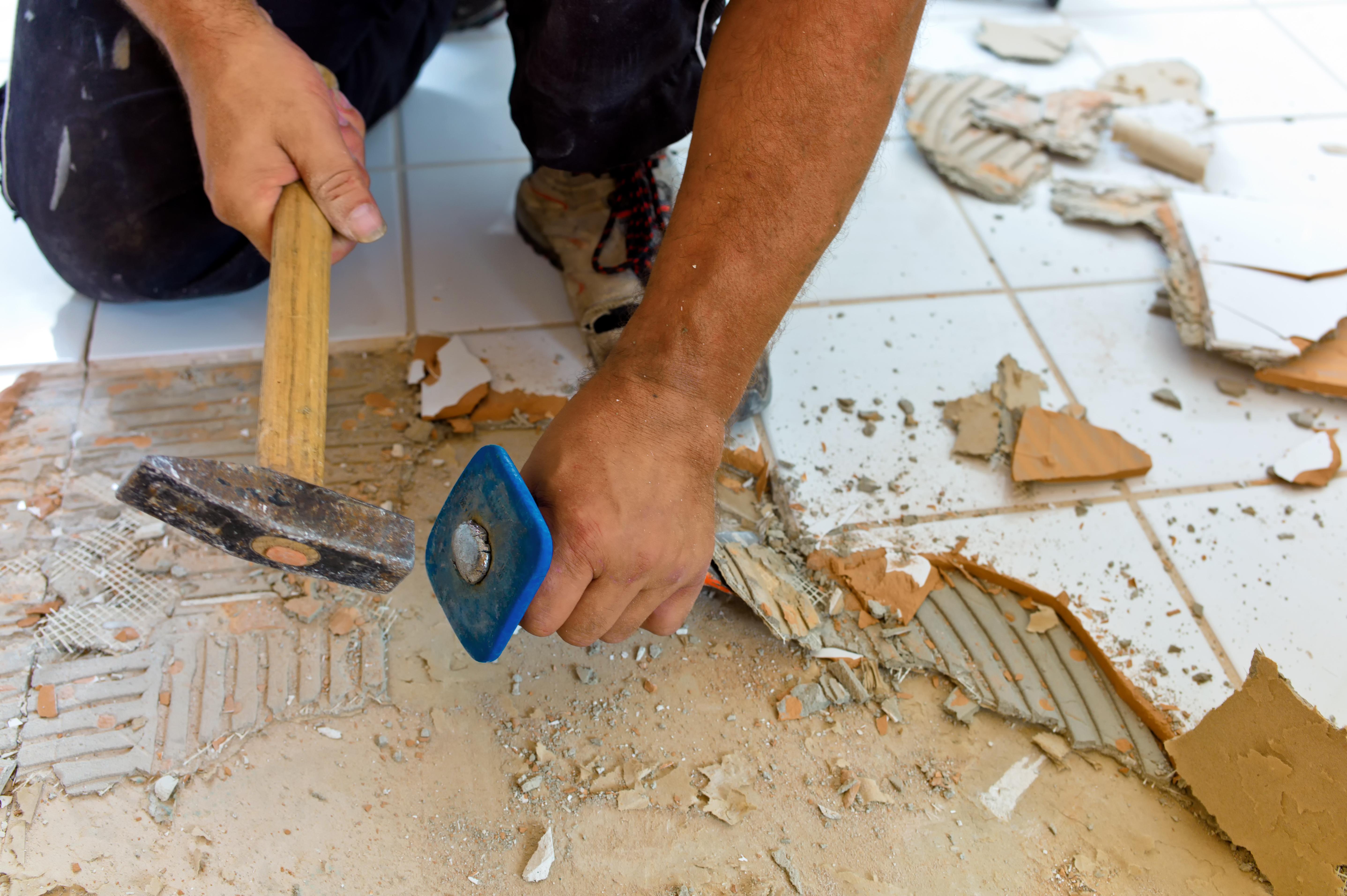 Tegelvloer Keuken Vervangen : , toilet, keuken of ergens anders in huis bijvoorbeeld de tegelvloer