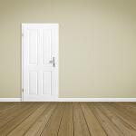 deur afhangen